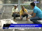 MMDA  Drainage systems in C5 deliberately clogged
