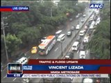 Rains, floods stall Metro Manila traffic