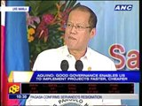 PNoy OKs bonus for DPWH employees