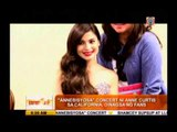 Anne Curtis wants to do more concerts