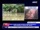 Heavy rains trigger Mindanao floods