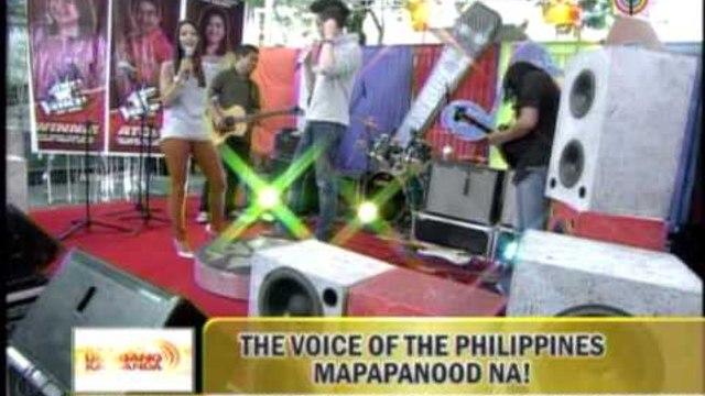 Bamboo performs 'Umagang Kay Ganda' theme song