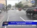 Flashfloods hit Metro Manila