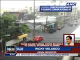Strong rains cause floods, force suspension of classes
