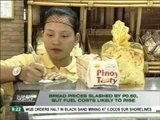 Bread prices cut by P0.50, but fuel rates likely to rise