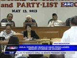 'Comelec should have proclaimed Senior Citizens as winner'
