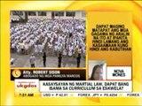 Punto por Punto: Kasaysayan ng martial law, dapat bang isama sa curriculum sa eskwela?