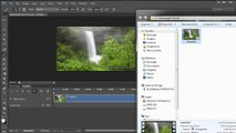 Cinemagraph Quick Tutorial Photoshop CS6 Single Mask