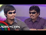 Willie Nepomuceno as Manny Pacquiao draws laughs