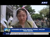 Taiwanese activists demand formal apology from Aquino