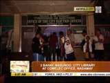 Fire razes houses, Comelec office and library in Antipolo