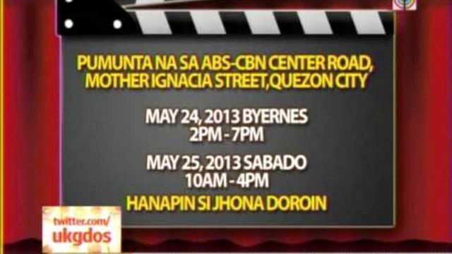 ABS-CBN searching for new child star