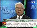 Businessmen urge Aquino gov't to speed up projects