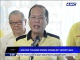 PNoy rejects Comelec's 'money ban'