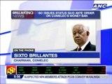 Brillantes: We will recognize SC order