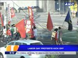 Labor Day protests kick off