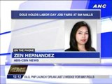 DOLE holds Labor Day job fairs at malls