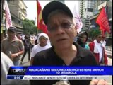 Activists blast PNoy for rejecting labor demands