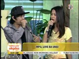 'PGT' semifinalist MP3 performs on 'UKG'