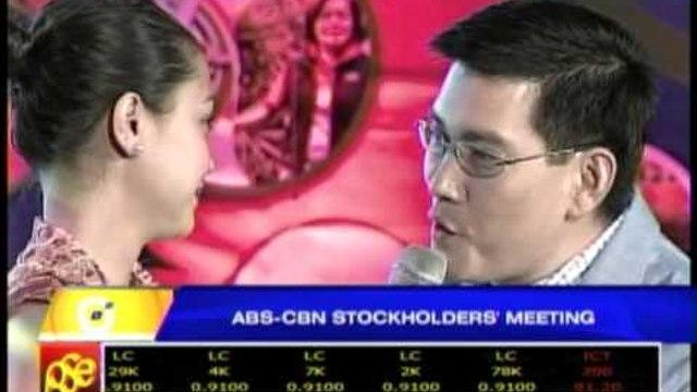 Jodi-Richard duet thrills ABS-CBN stockholders