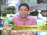 Jorge Cariño celebrates birthday on 'UKG'