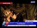Aerosmith vows night of fun in PH concert