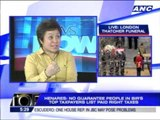 BIR's top taxpayers list not a security risk - Henares