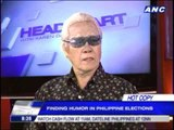 Willie Nep impersonates 'Dirty Harry' Lim
