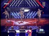 Triplets awe judges in 'PGT' with martial arts routine