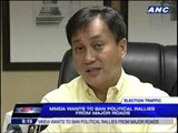 MMDA wants to ban political rallies from major roads