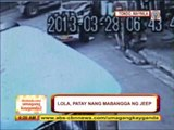 Caught on cam: Jeep hits grandma in Tondo