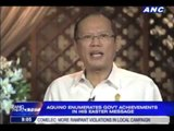 PNoy enumerates achievements in Easter message