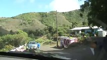 "Driving Wild One Lane Kahekili ""Highway"" 340 on Maui Hawaii"