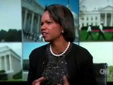 Condoleezza Rice meets Obama. 2nd coming of the Messiah?