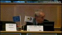 """CHEMTRAILS SKYGUARDS 8&9 avril 2013 François Alfonsi """"Député Européen"""" au Parlement Européen vofr"""