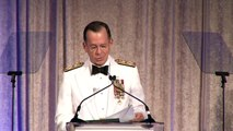 ACUS Awards Dinner 2010 Admiral Mullen introduces General Abrial and General Mattis