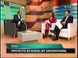 22JUN 0930 TV7  DANIEL MORA   PROYECTO DE NUEVA LEY UNIVERSITARIA 2