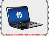 HP Pavilion G6-2321dx 16 Inch Laptop (2.7 GHz AMD A6-4400M Accelerated Processor 4GB RAM 500GB