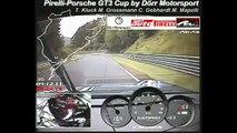 Schnellste Runde beim 24h-Rennen am Nürburgring im Pirelli-Porsche 911 GT3 Cup by Dörr Motorsport