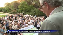 Vaucluse: Joris Hébrard (FN) élu maire du Pontet