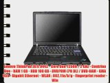 Lenovo ThinkPad Z61t 9442 - Core Duo T2500 / 2 GHz - Centrino Duo - RAM 1 GB - HDD 100 GB -