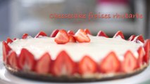 Recette cheesecake fraises rhubarbe