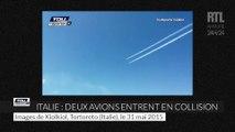 Italie deux avions se percutent lors d'un meeting aérien
