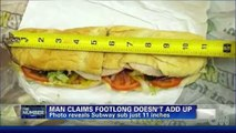 Why Americans are Fat: Footlong Subway Sub is Not Enough Food