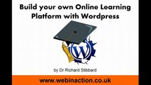 Wordpress for eLearning 02-01 - Install Sensei & Sensei Modules