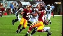 Eagles Redskins Fight & Highlights 2014 | Philadelphia Eagles defeat Washington Redskins 2014
