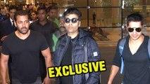 (VIDEO) Salman Khan, Varun Dhawan, Karan Johar | Celebrities Return From AIBA awards
