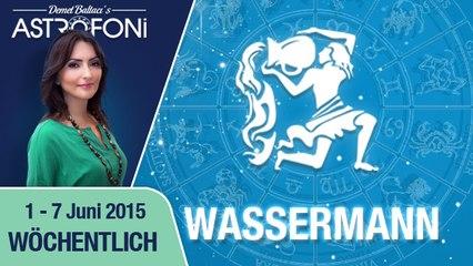 Monatliches Horoskop zum Sternzeichen Wassermann (1-07 Juni 2015)