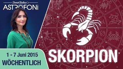 Monatliches Horoskop zum Sternzeichen Skorpion (1-07 Juni 2015)