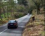 mario oliveira-Ford Sierra Cosworth drifting